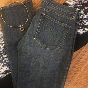 J. Crew Matchstick Stretch Jeans Med Wash Size 27S